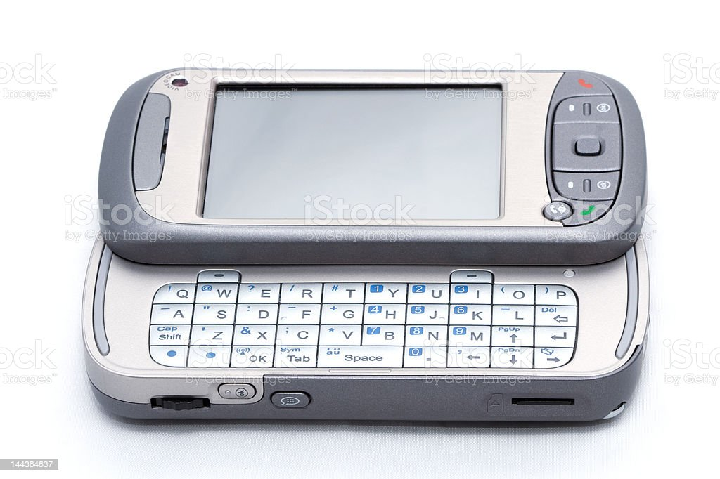 new trendy Windows mobile based PDA phone telephone device royalty-free stock photo