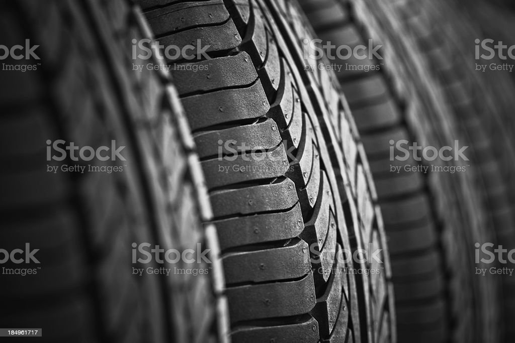 new tyre stock photo