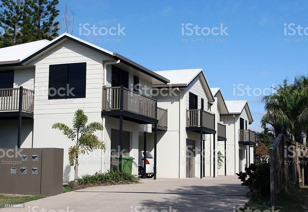 New Urban Apartments royalty-free stock photo