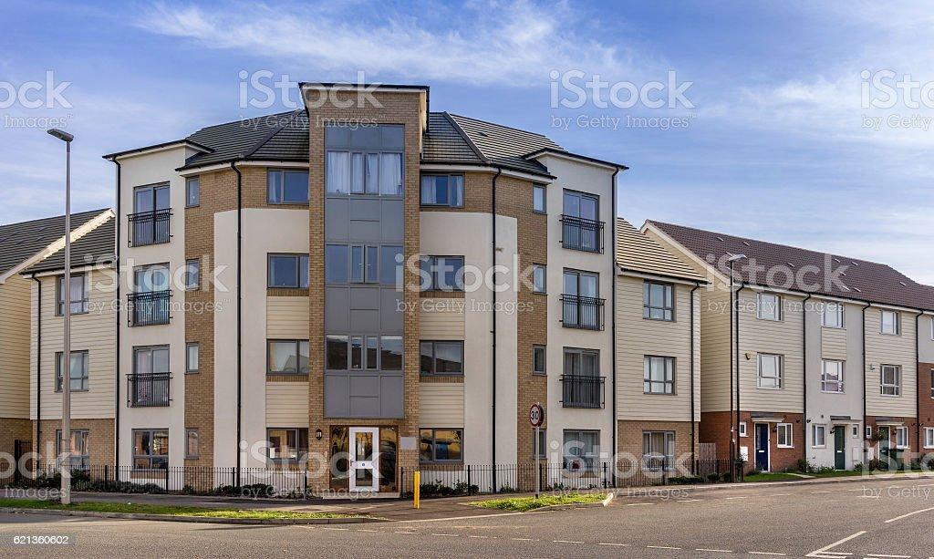New urban housing stock photo