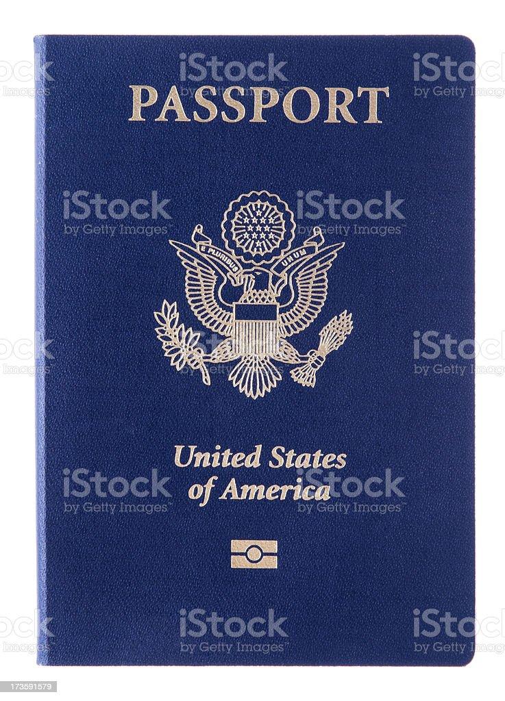 New U.S. Passport stock photo