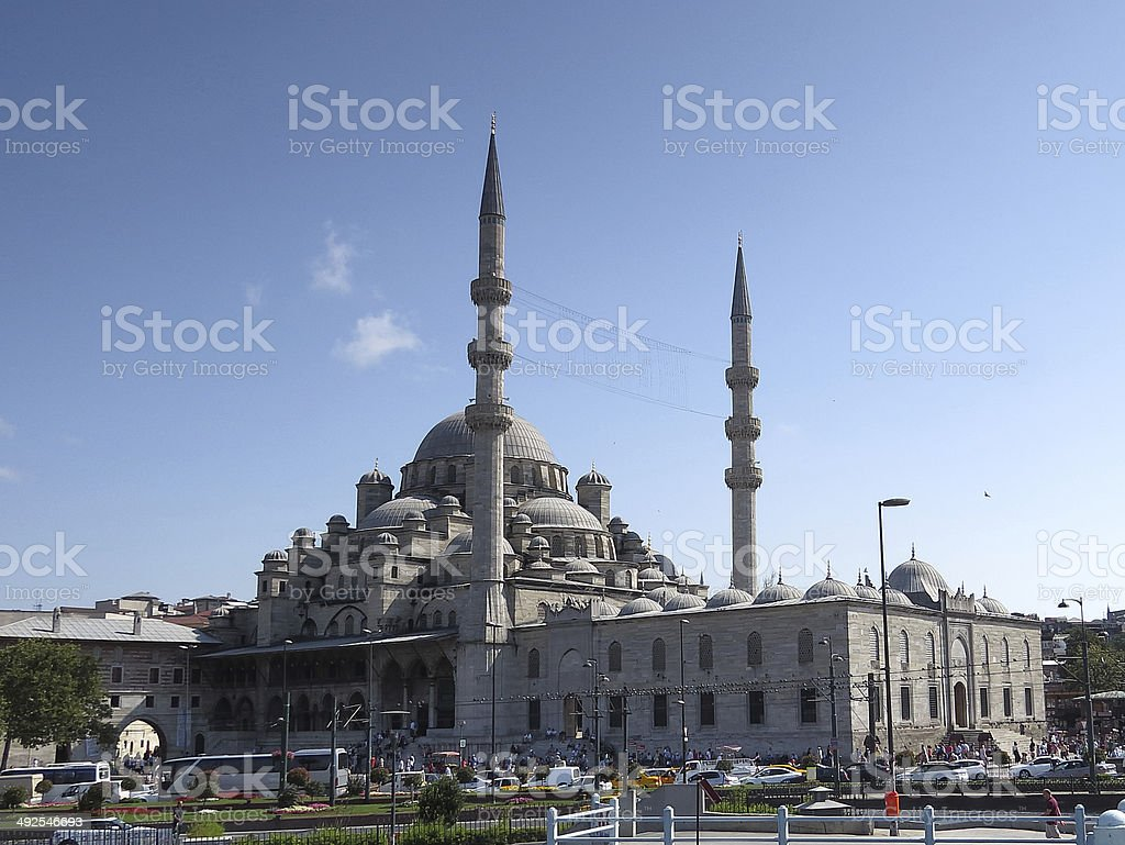 New Valide Sultan Mosque stock photo
