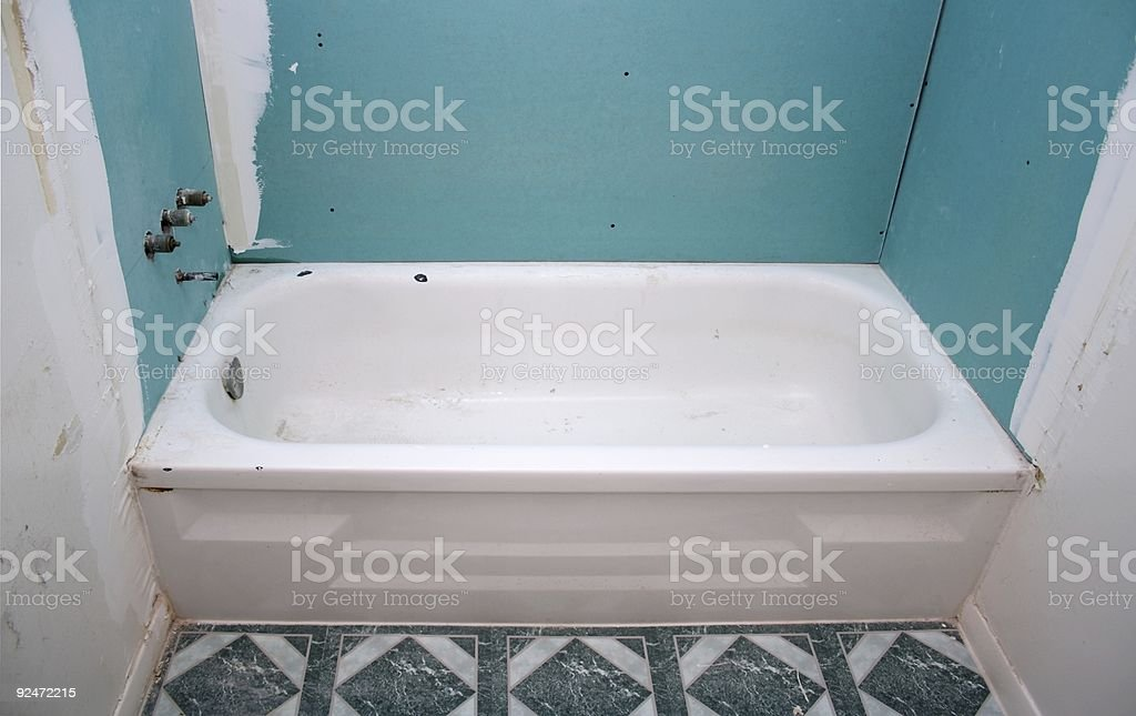 New Walls Old Tub royalty-free stock photo