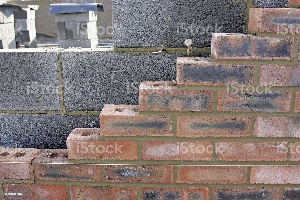 new walls royalty-free stock photo