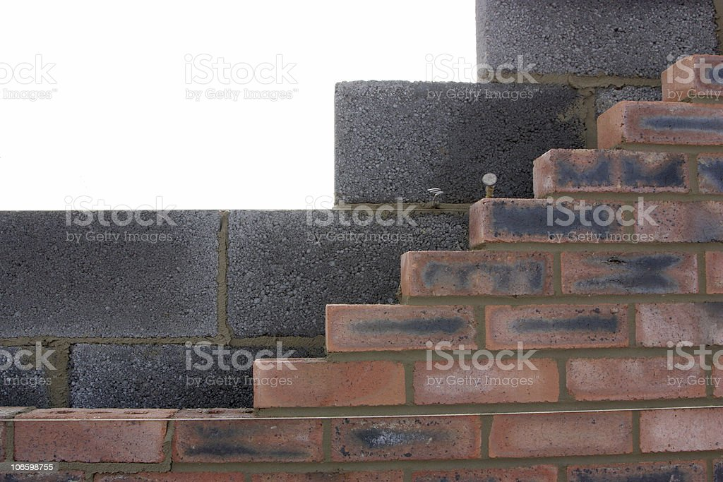 new walls royalty-free stock photo