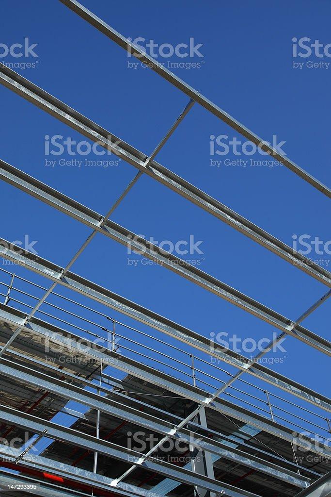 new warehouse construction royalty-free stock photo