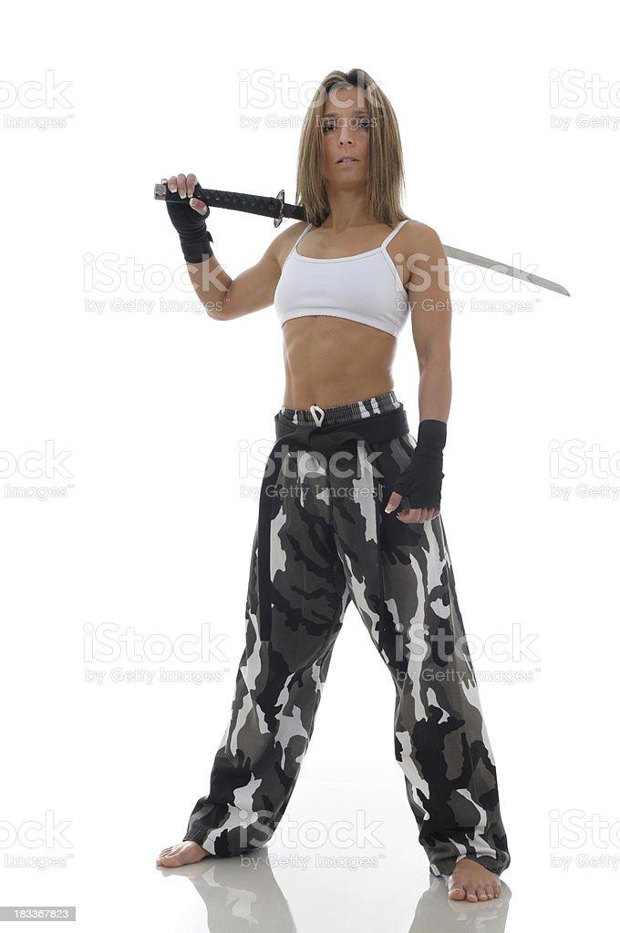 New Warrior stock photo