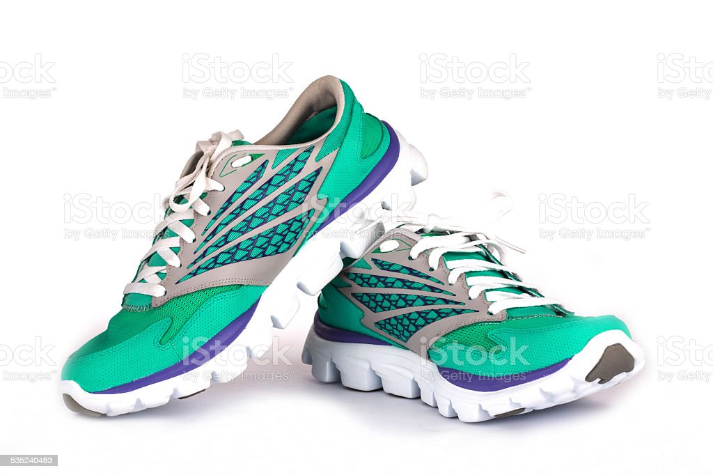 New Woman Sport Shoes stock photo