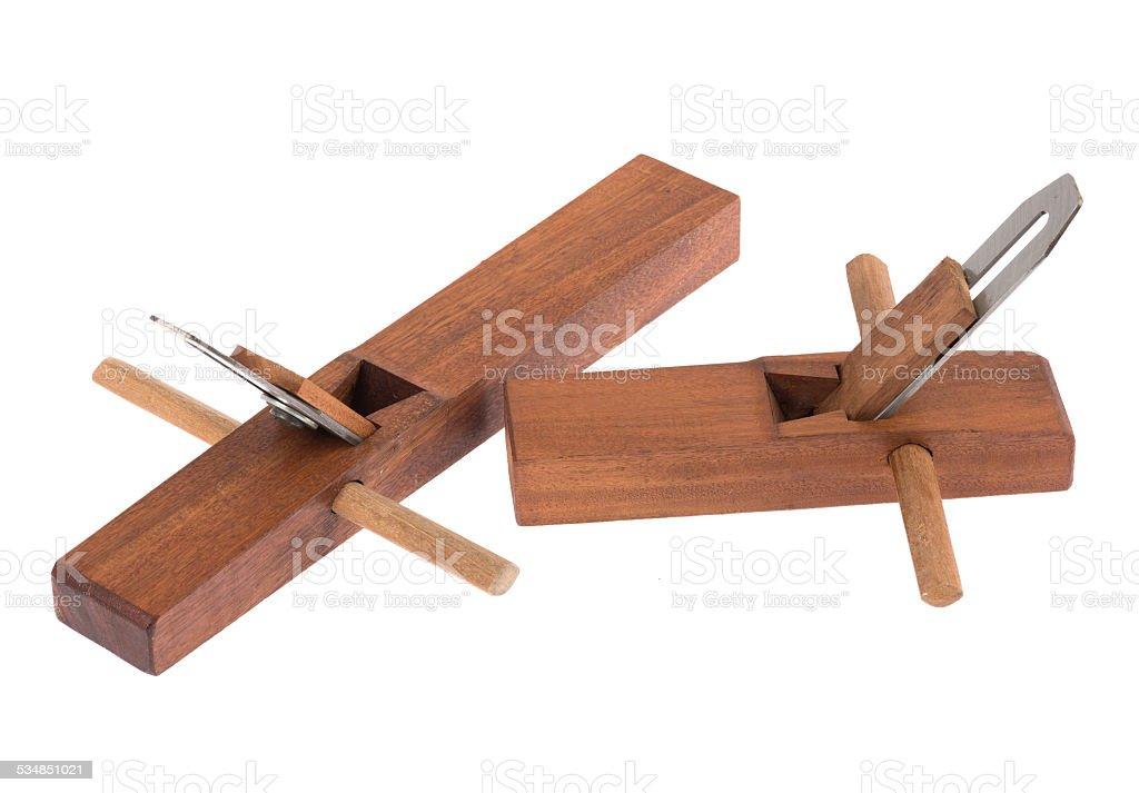 new wood planer stock photo