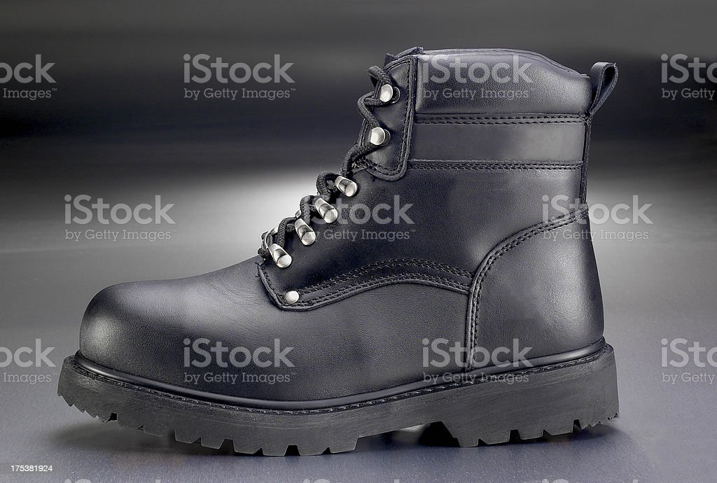 New work boot stock photo