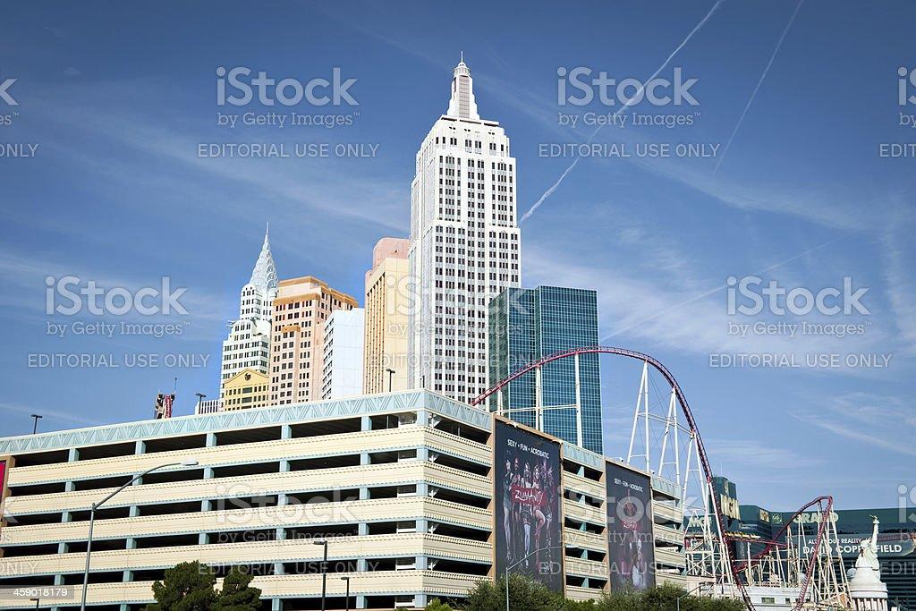 New Work Casino in Las Vegas, Nevada USA stock photo