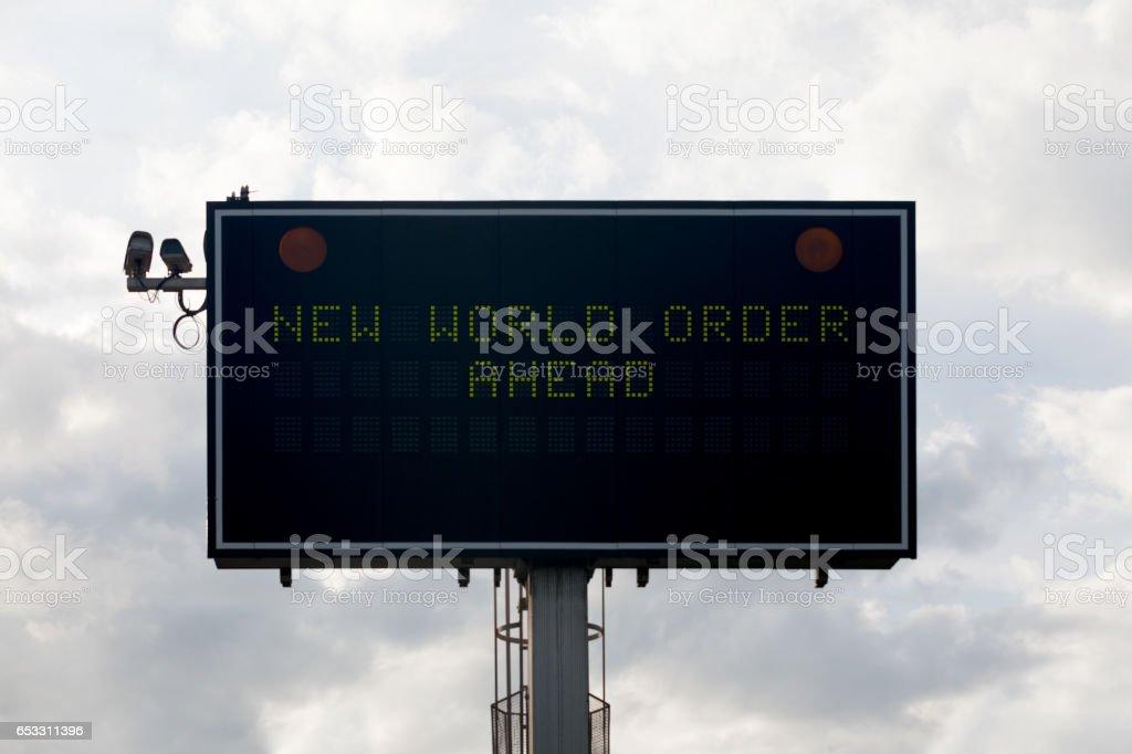 New World Order Ahead – Foto