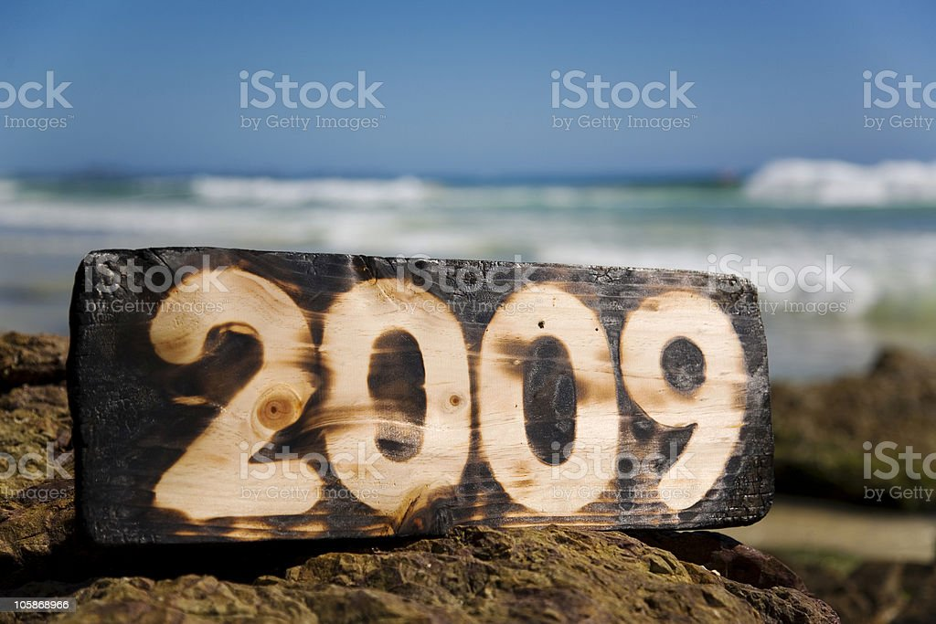 New Year 2009 royalty-free stock photo