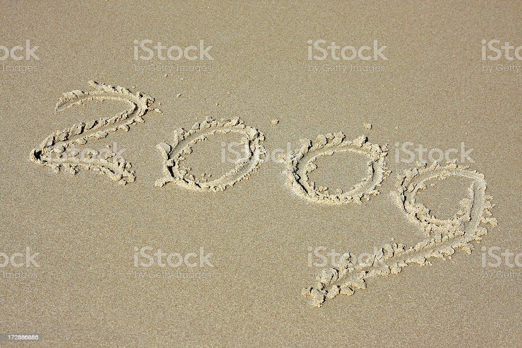 New year 2009 # 5 XL royalty-free stock photo