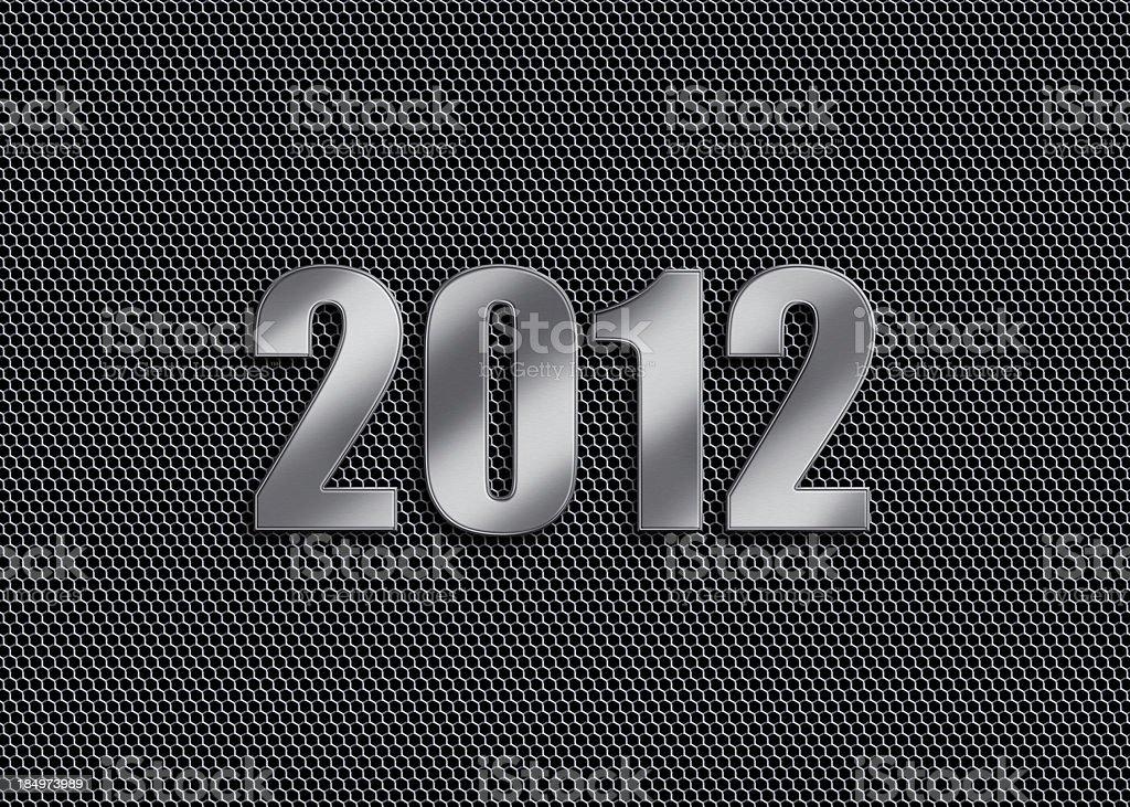 New Year - 2012 royalty-free stock photo