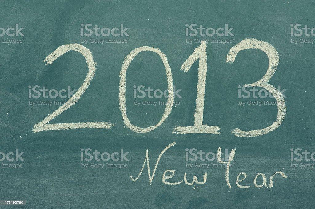 New Year 2013 royalty-free stock photo