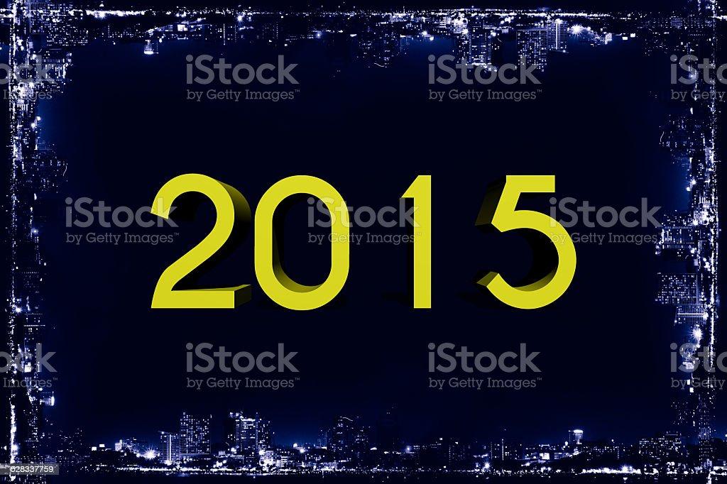 New year 2015,Happy New year stock photo