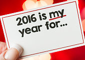 New Year 2016 is my year for...