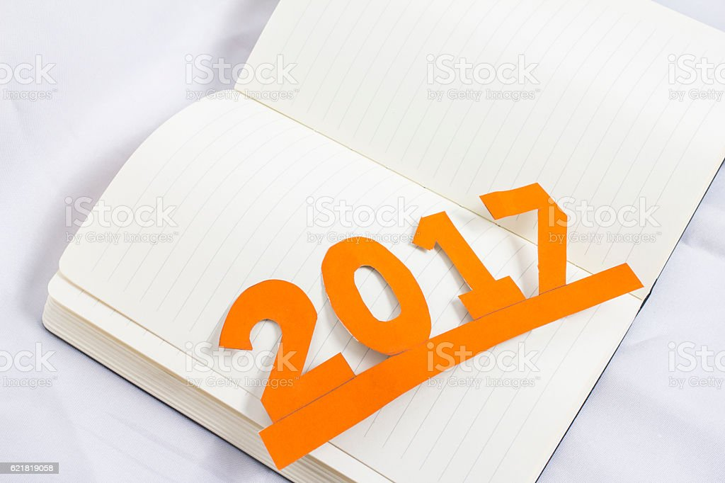 New Year and holidays. stock photo