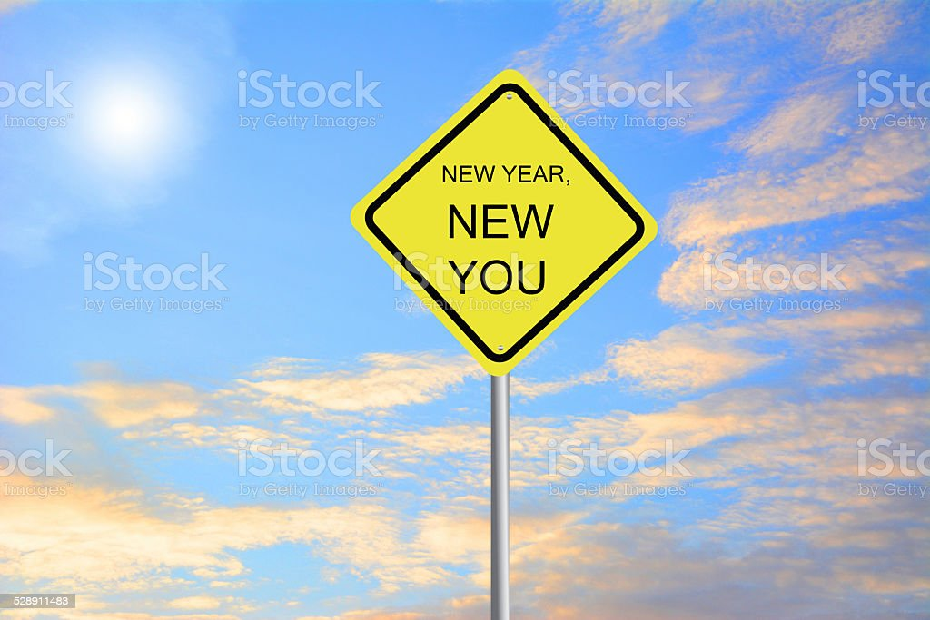 New Year and NewYou. stock photo