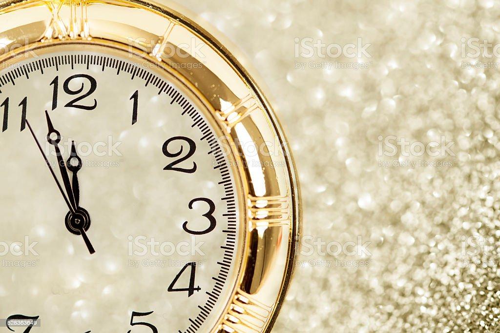New Year at midnight stock photo