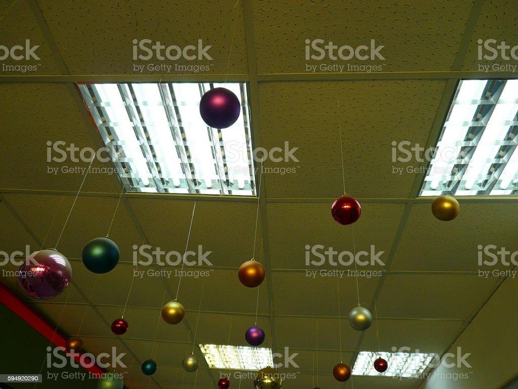 new year balls stock photo