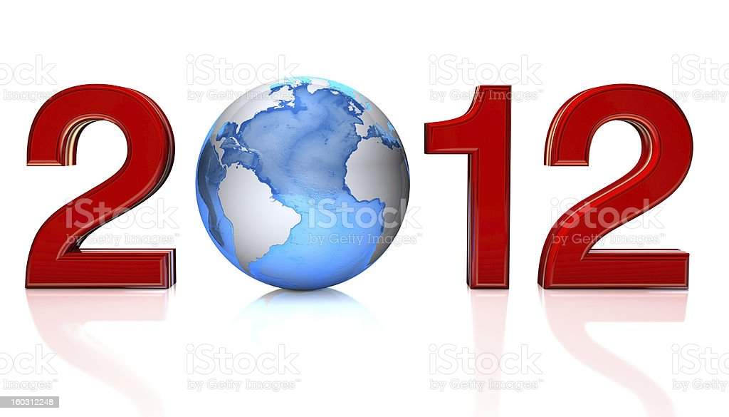 New Year Concept royalty-free stock photo