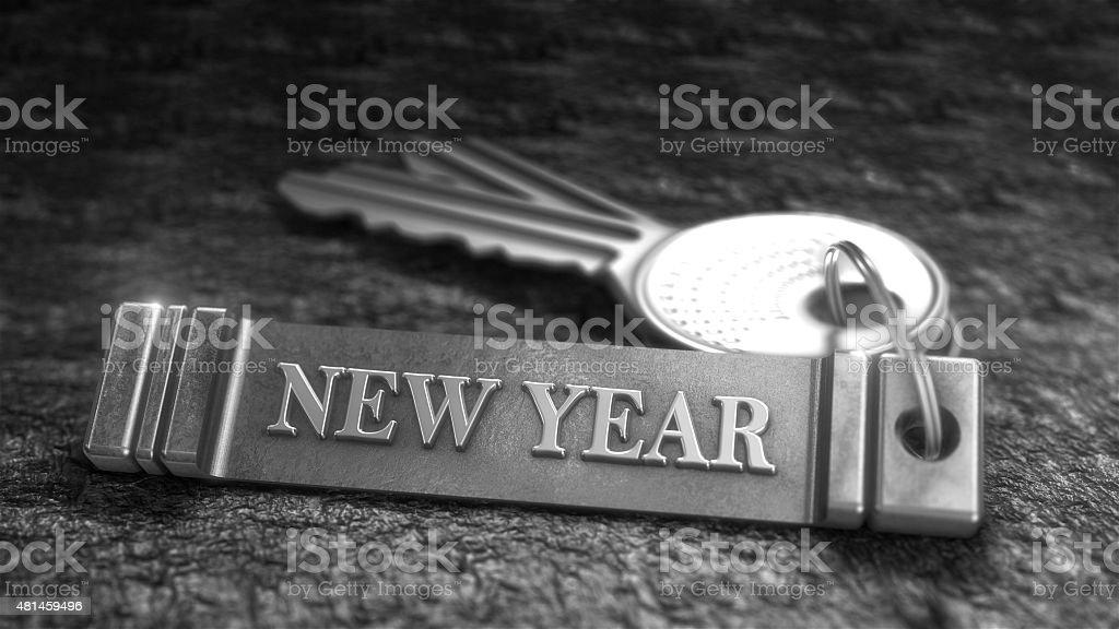 Concept de la nouvelle année photo libre de droits