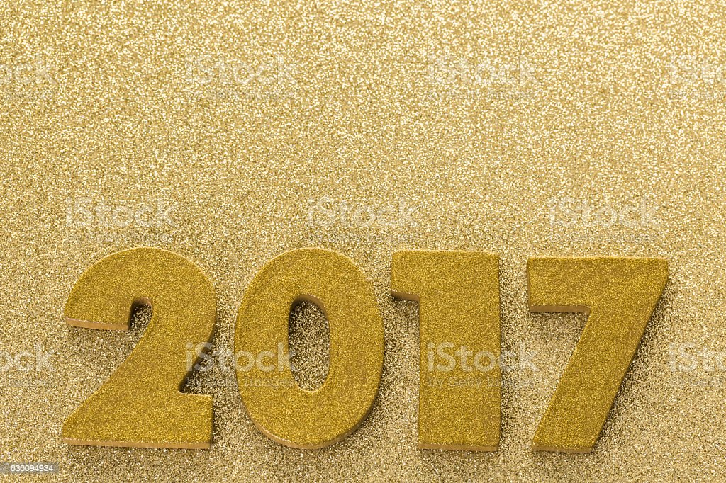 New year decoration stock photo