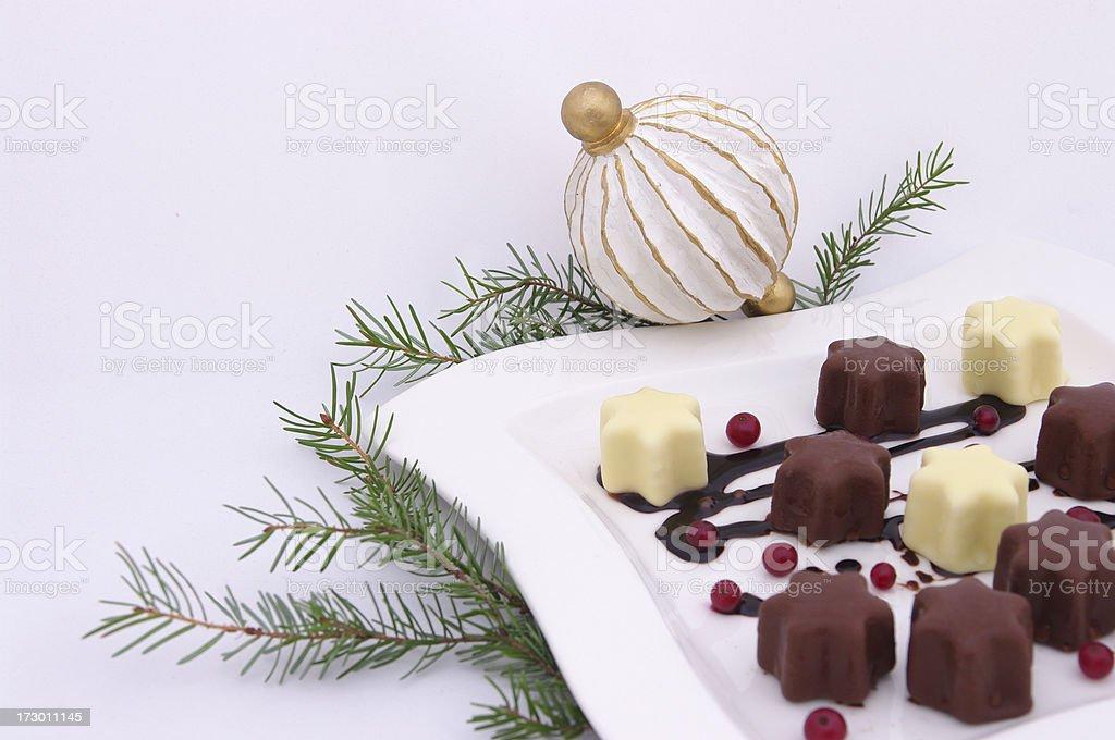 New year dessert royalty-free stock photo