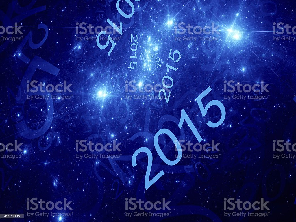 New year fractal background royalty-free stock vector art