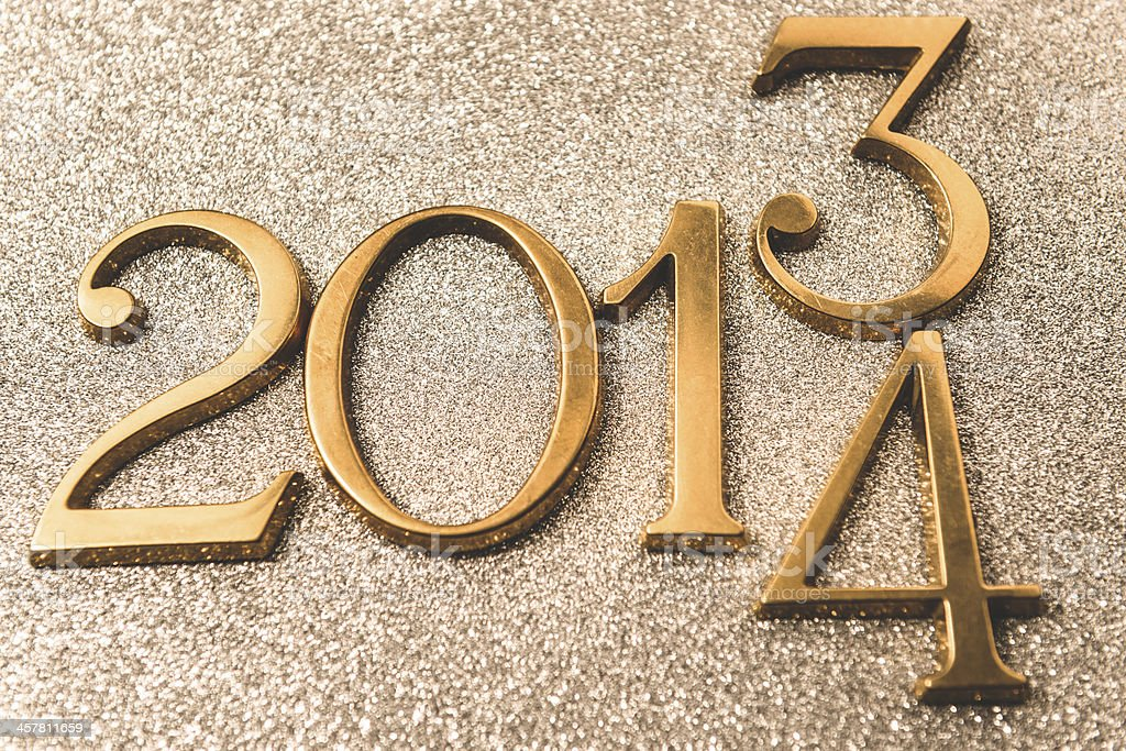New year party background stock photo