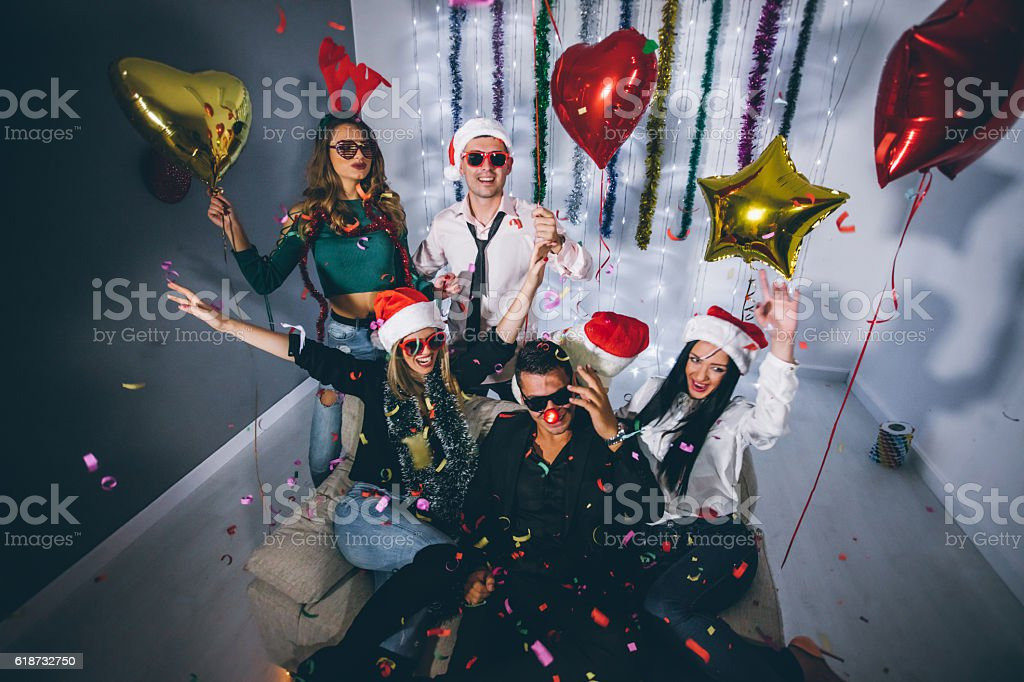 New Year Party! stock photo