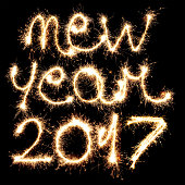 new year sparks for 2017