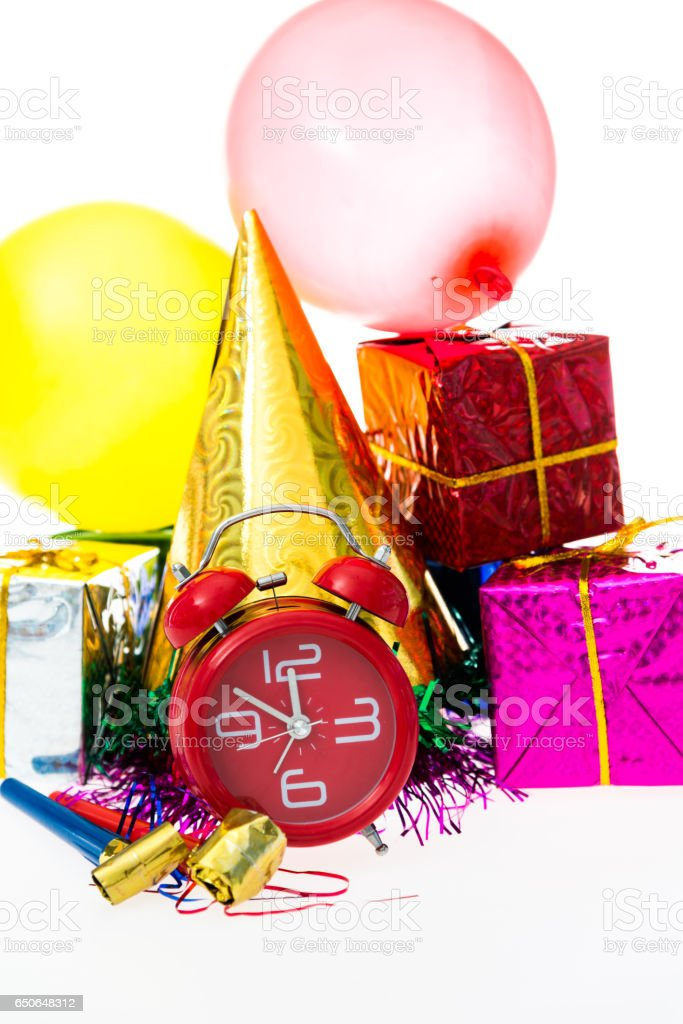 New year time concept stock photo
