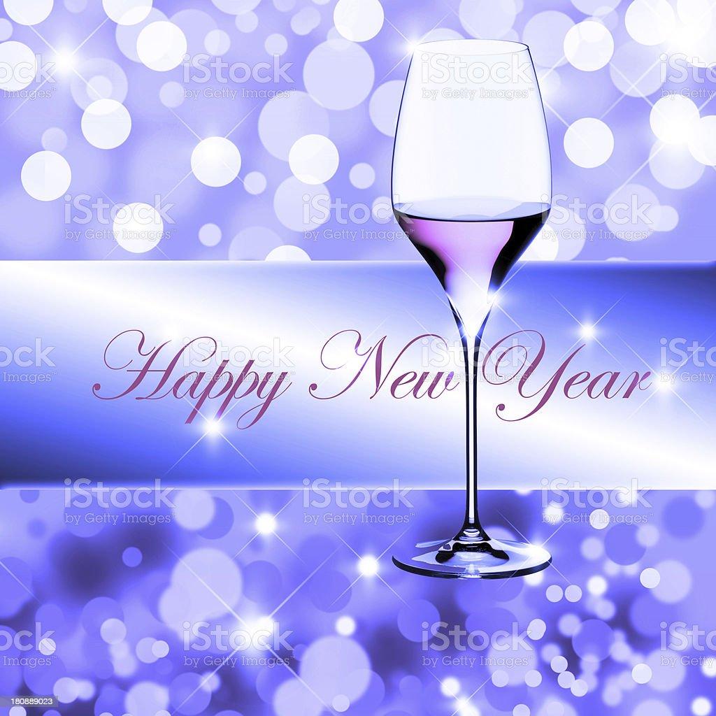 new year toast royalty-free stock photo