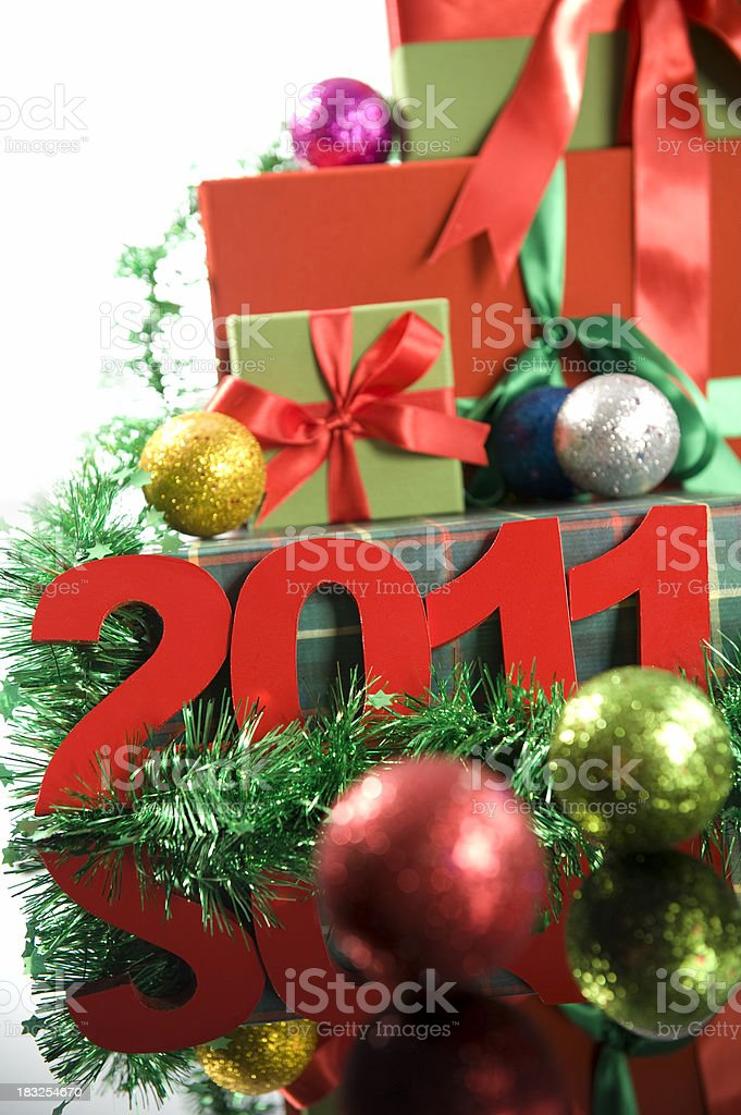 New Year's 2011 royalty-free stock photo