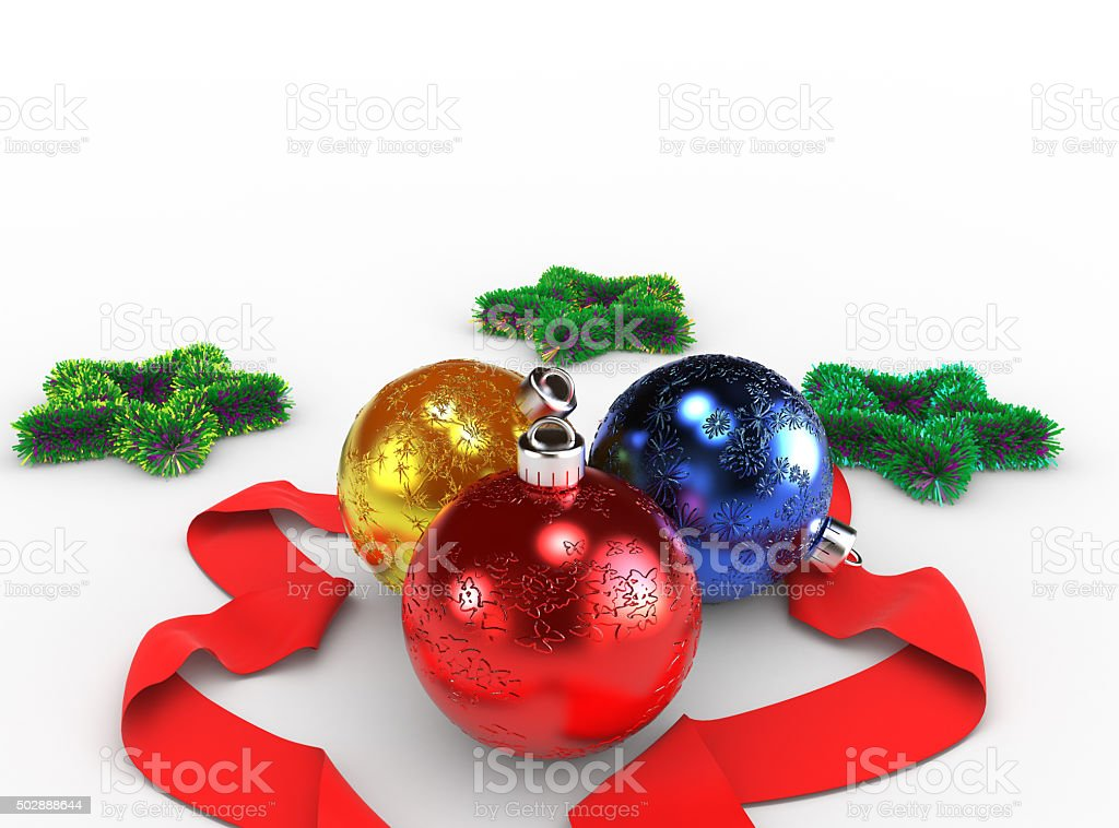 New year's attributes stock photo