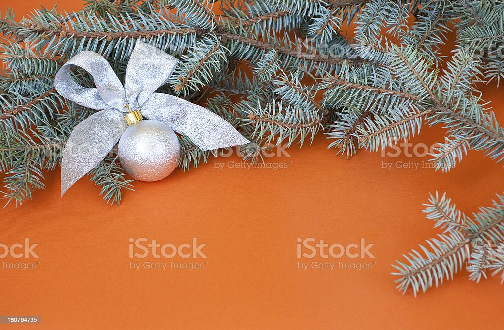 New Year's background royalty-free stock photo
