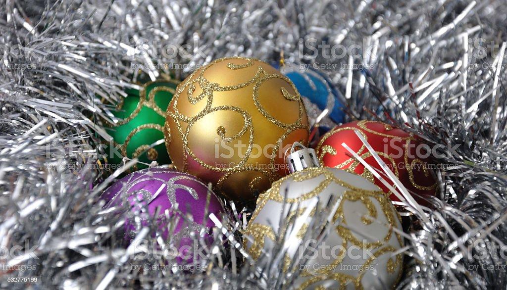 New Year's ball stock photo