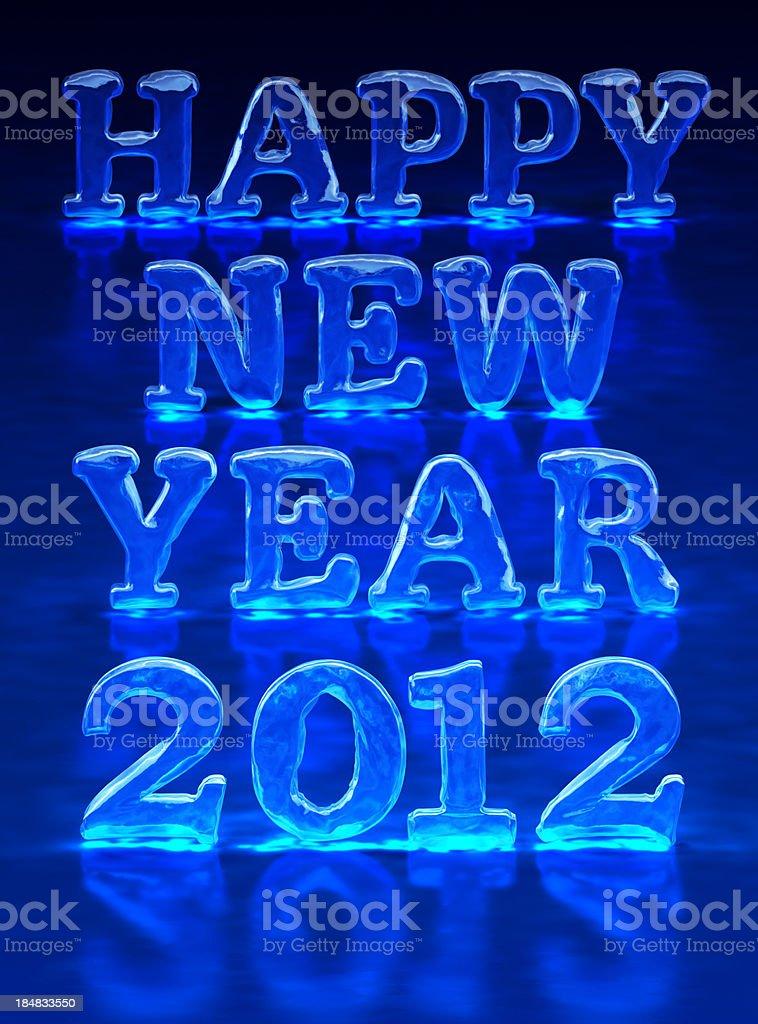 New Year's congratulation stock photo