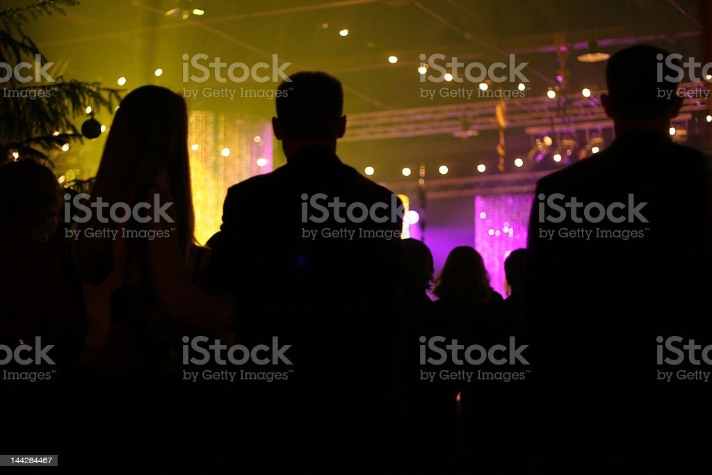 new years corporate party background royalty-free stock photo