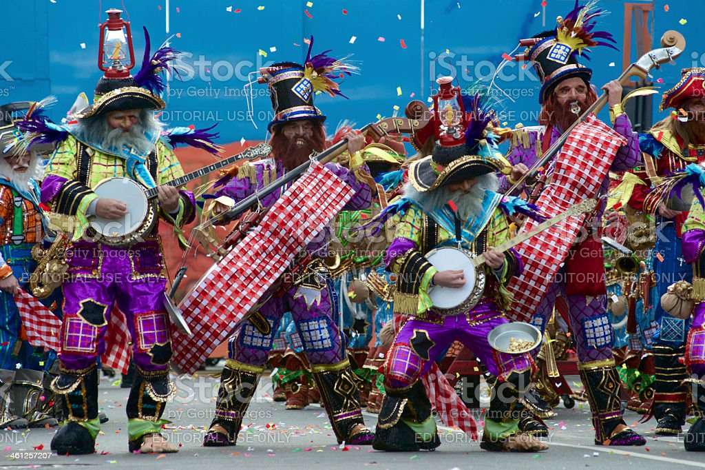 New Years Day Parade in Philadelphia, PA stock photo