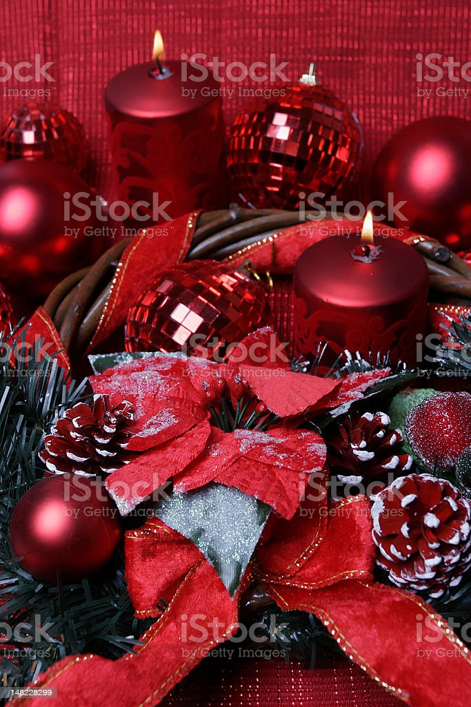new year's decoration royalty-free stock photo