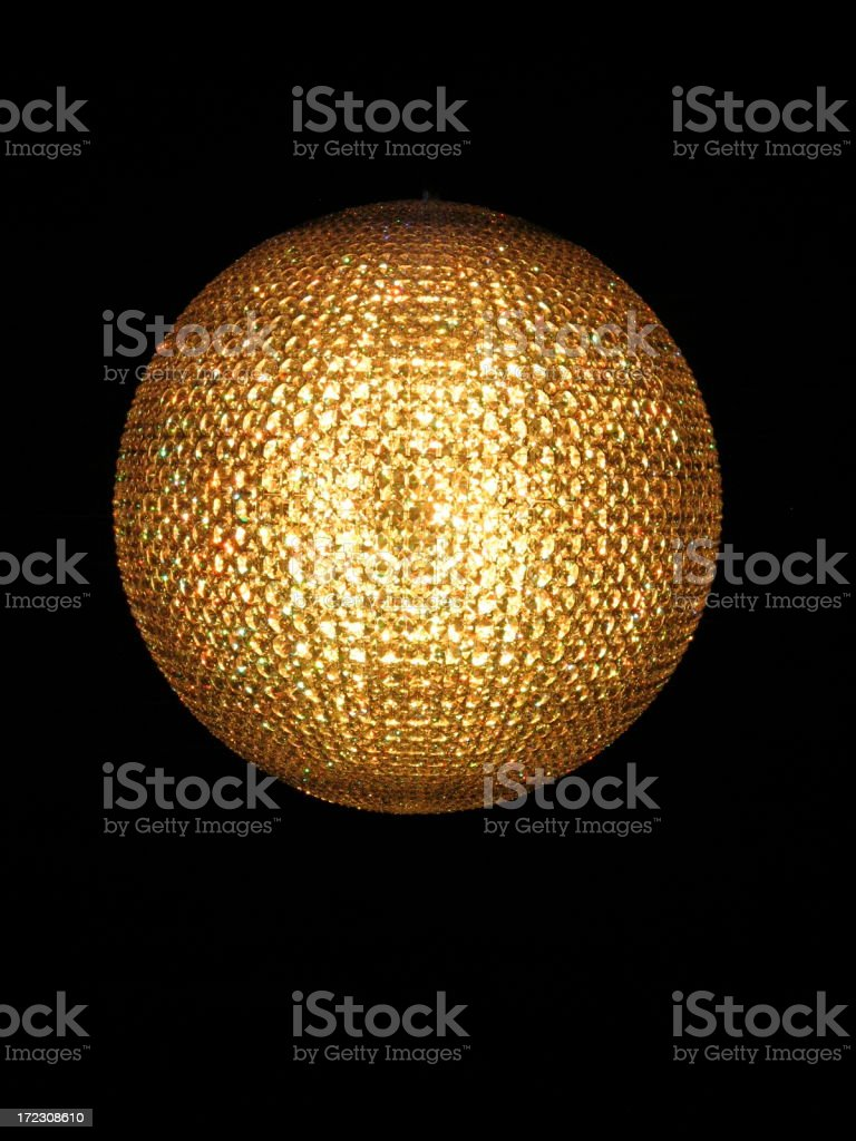 New Year's Eve Ball royalty-free stock photo