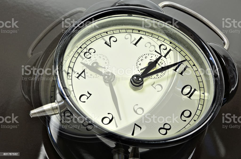 New Year`s Eve, Collapse of Time stock photo