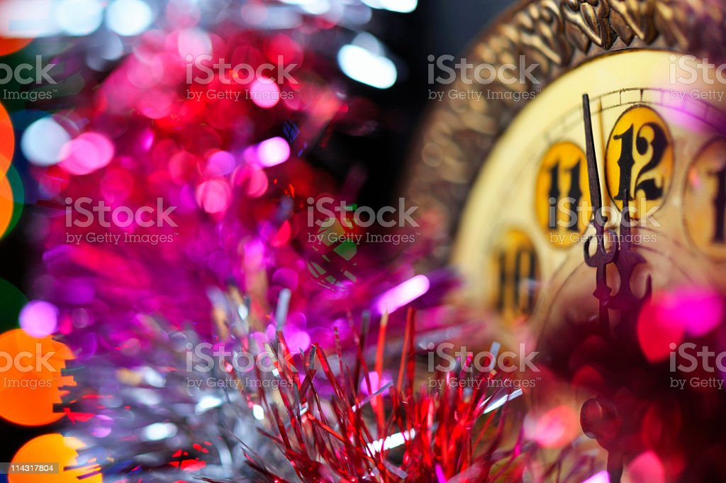 New Years Eve Party Background stock photo