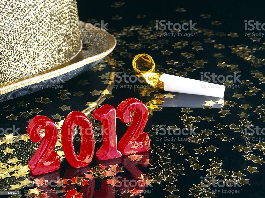 New Year's eve party royalty-free stock photo