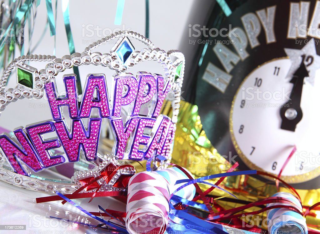 New Year's Eve Party! stock photo