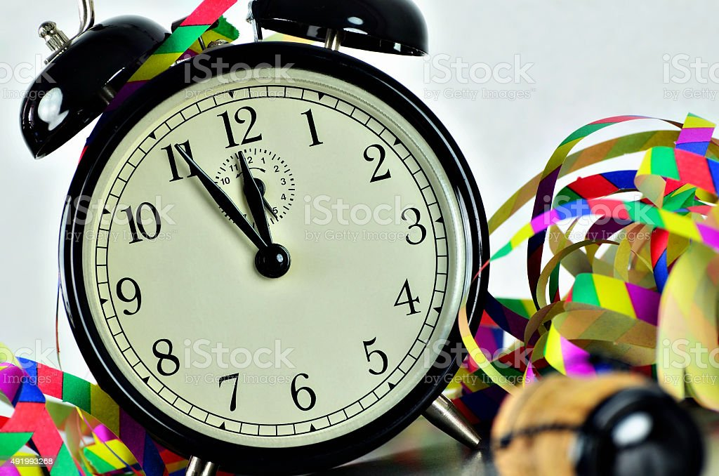 New Year´s Eve stock photo